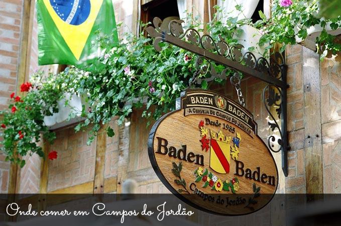 Lua de mel: restaurantes em Campos do Jordão